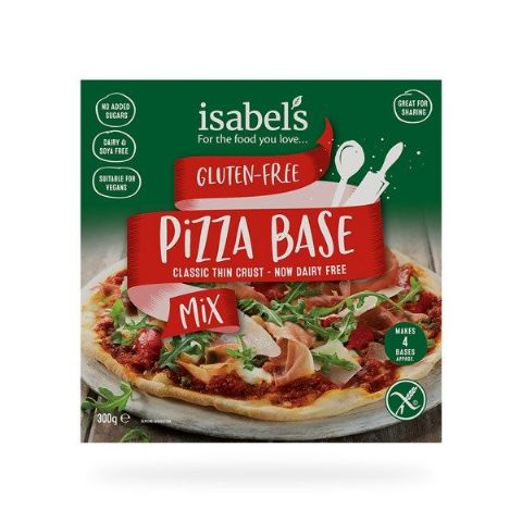 Isabel's Thin Crust Pizza Base Mix 300g